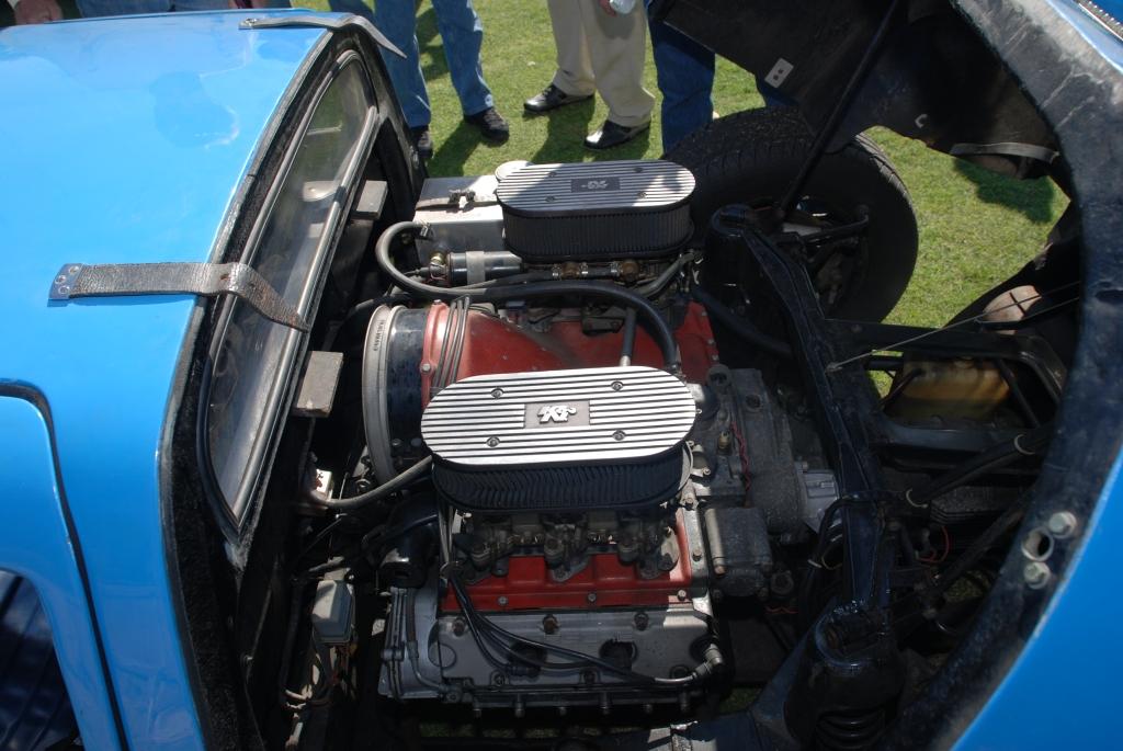 Blue 1964 Porsche 904 GTS Carrera_motor _all Porsche swap & car display_3/4/12
