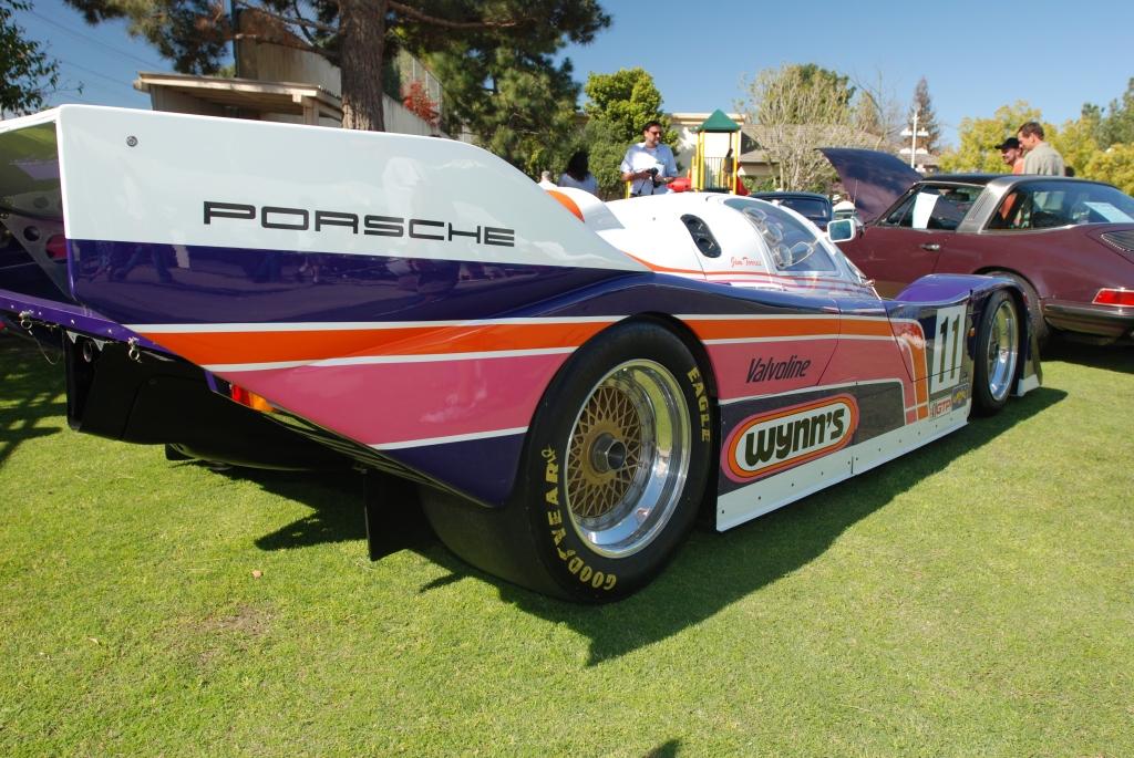 Wynn's Porsche 962 _ 3/4 rear view_all Porsche swap & car display_3/4/12