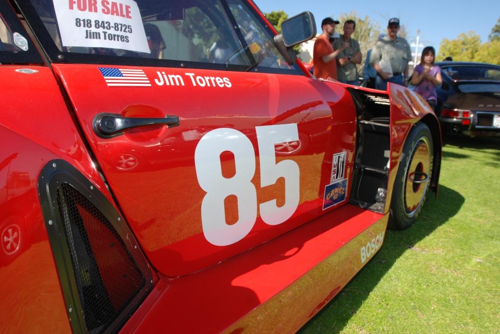 Red Coca-Cola Porsche 935_side view , reflections _all Porsche swap & car display_3/4/12