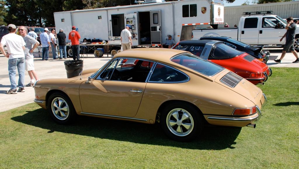 1967 Porsche 911S_side view_all Porsche swap & car display_3/4/12