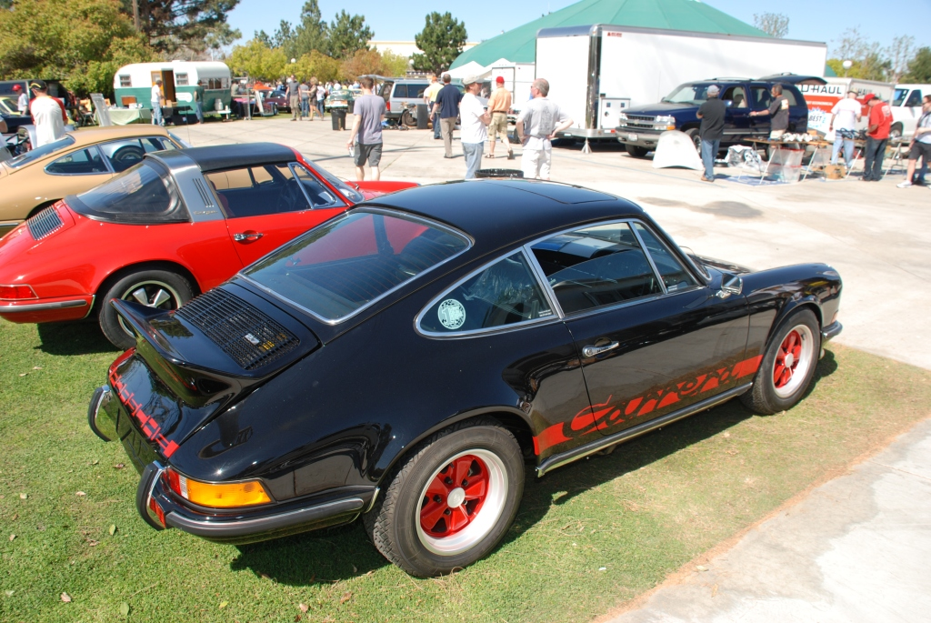 Black 1973 Porsche 911 Carrera RS_right hand drive_all Porsche swap & car display_3/4/12