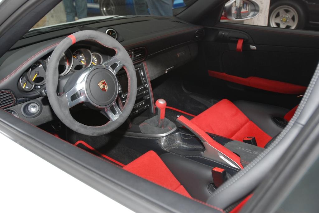 Porsche GT3 RS4.0_series # 222_interior view_Cars&Coffee/Irvine_3/31/12