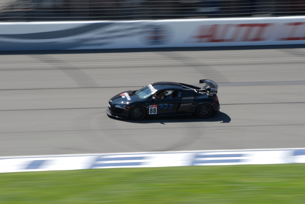 Black Audi R8 V-10_Festival of Speed_Auto Club Speedway_April 21, 2012