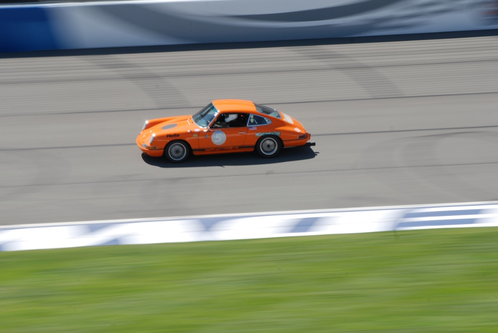 Orange Porsche 911_Festival of Speed_Auto Club Speedway_April 21, 2012