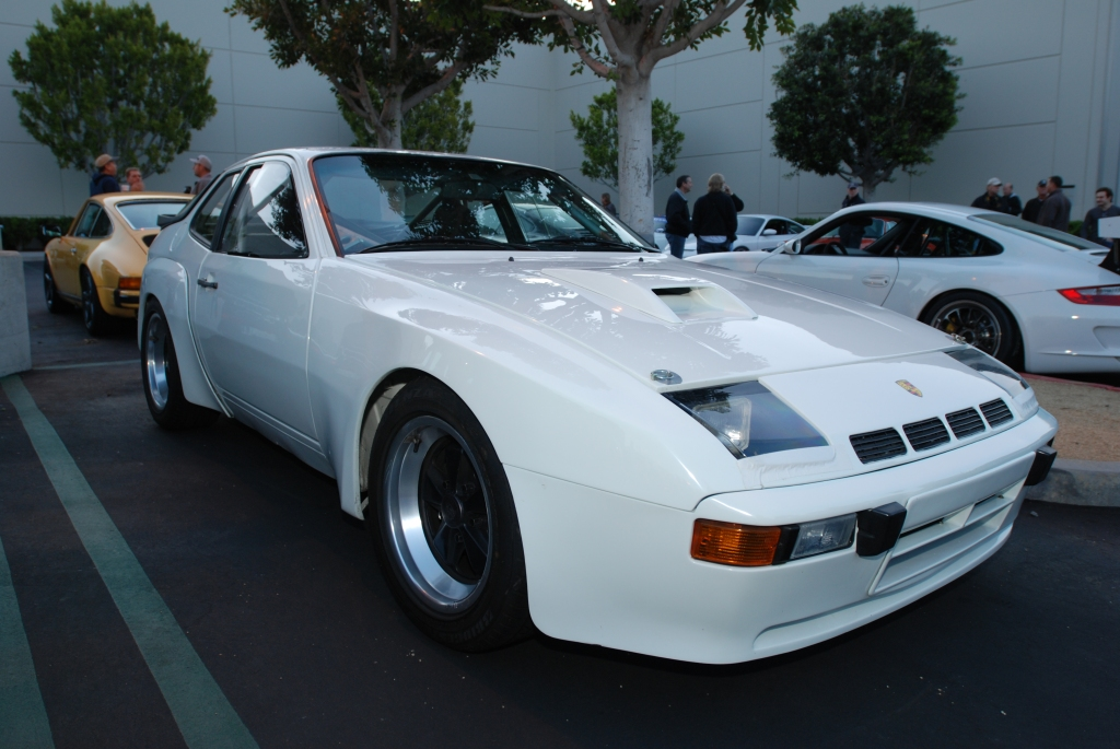 White 1981 924 Carrera GTS club sport_3/4 front view_F.A. Porsche Tribute_Cars&Coffee/Irvine_4/7/12