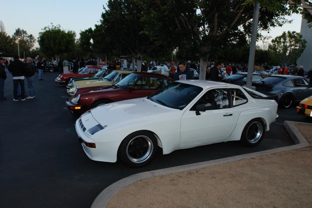 White 1981 924 Carrera GTS club sport & Porsche 911's_F.A. Porsche Tribute_Cars&Coffee/Irvine_4/7/12