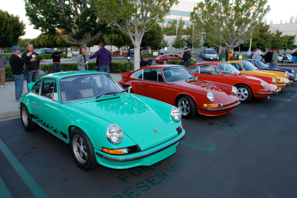 Early Porsche 911's _F.A. Porsche Tribute_Cars&Coffee/Irvine_4/7/12