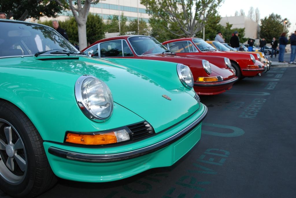 Early Porsche 911's _F.A. Porsche Tribute_Cars&Coffee/Irvine_4/7/12