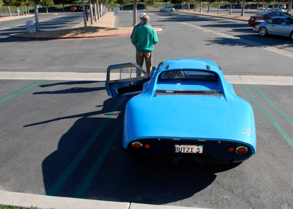 Blue 1964 Porsche 904 Carrera GTS_rear view_Cars&Coffee/Irvine_Feb. 2012