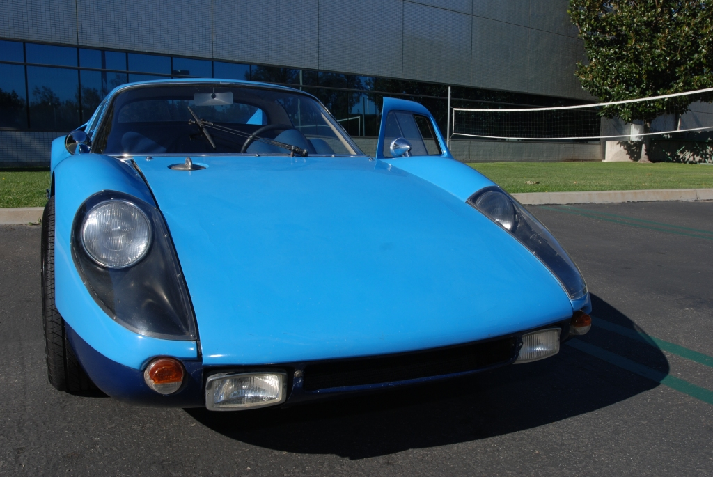 Blue 1964 Porsche 904 Carrera GTS_front view_Cars&Coffee/Irvine_Feb. 2012