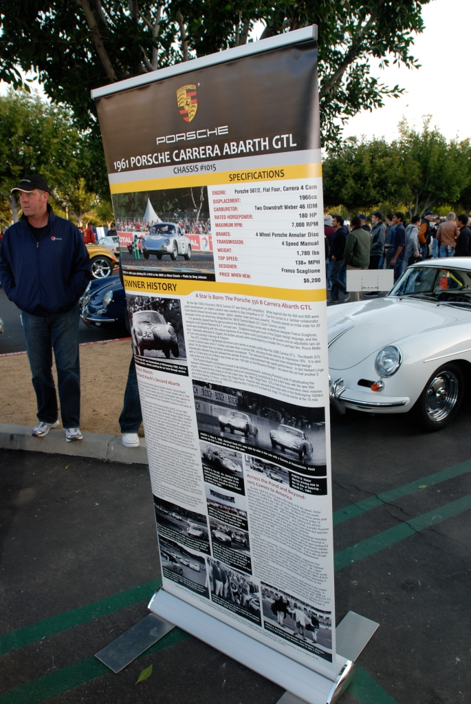 1961 Porsche Carrera Abarth GTL_vehicle history_F.A. Porsche Tribute_Cars&Coffee/Irvine_4/7/12