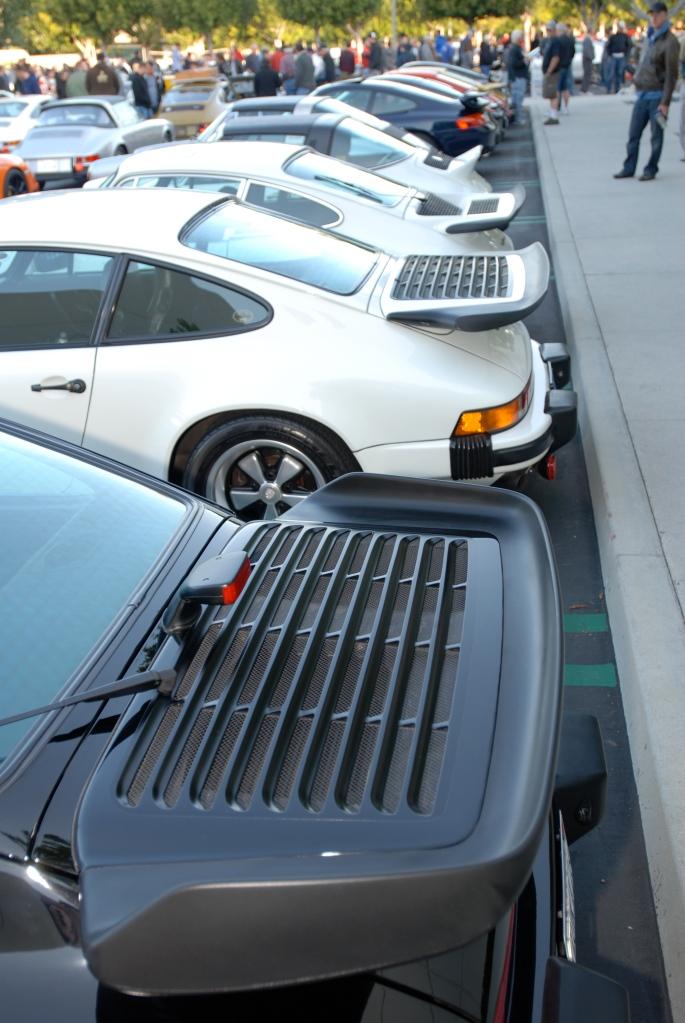 Porsche 911 rear spoilers_F.A. Porsche Tribute_Cars&Coffee/Irvine_4/7/12