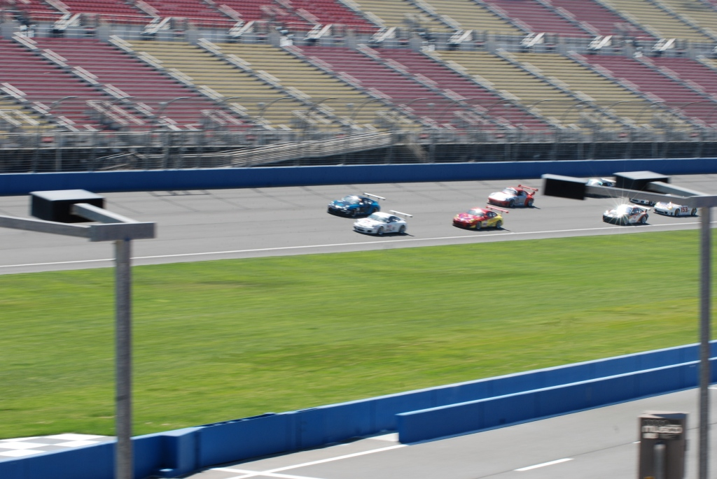 GT2A class, pacing the start_Festival of Speed_Auto Club Speedway_April 21, 2012