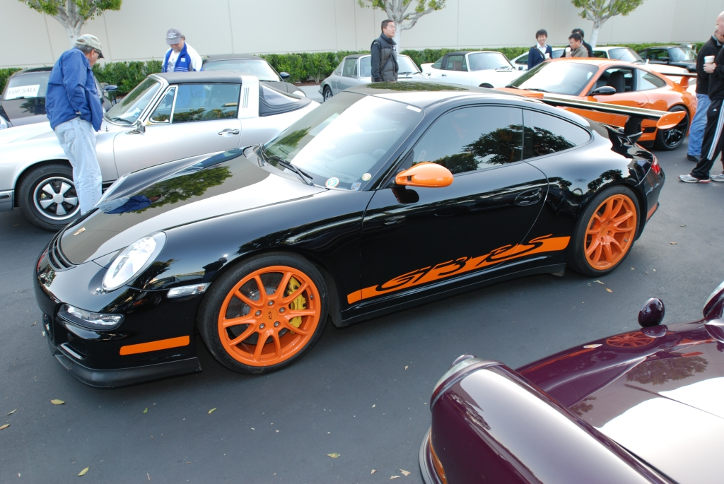 Black & orange Porsche GT3 RS_F.A. Porsche Tribute_Cars&Coffee/Irvine_4/7/12