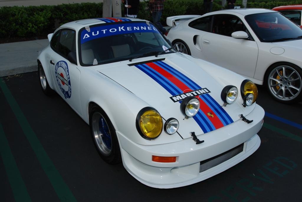 Martini Porsche 911 recreation_F.A. Porsche Tribute_Cars&Coffee/Irvine_4/7/12