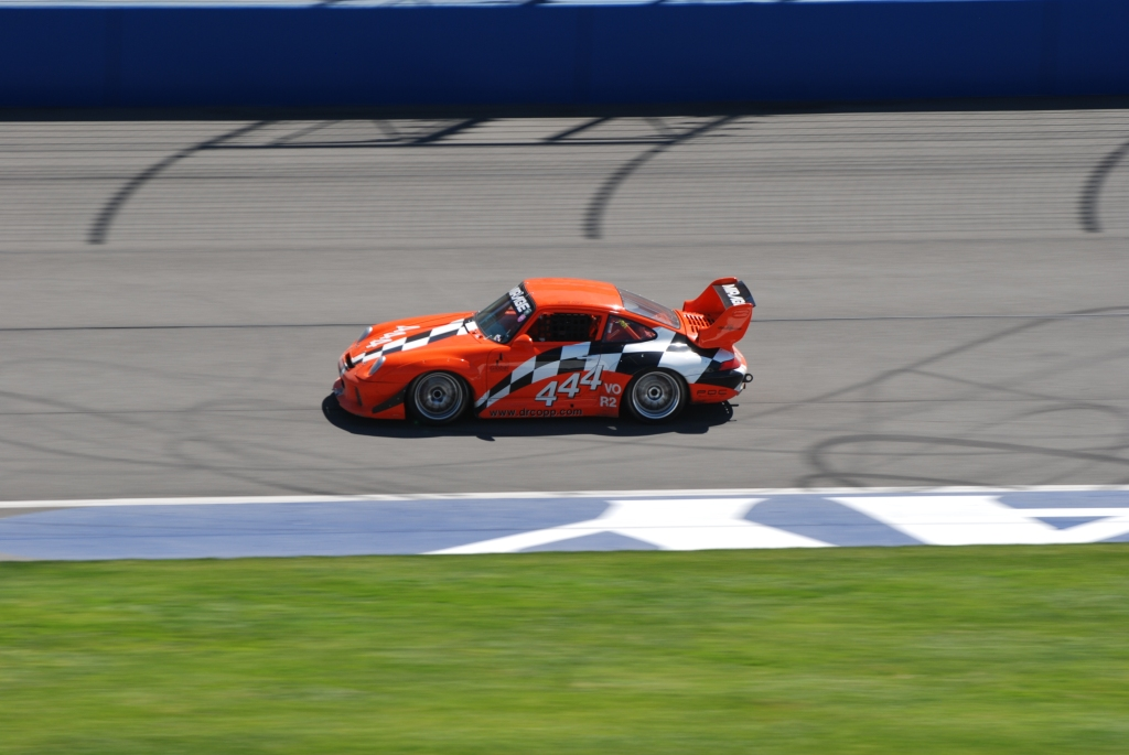 Orange Porsche 993_# 444_Festival of Speed_Auto Club Speedway_April 21, 2012