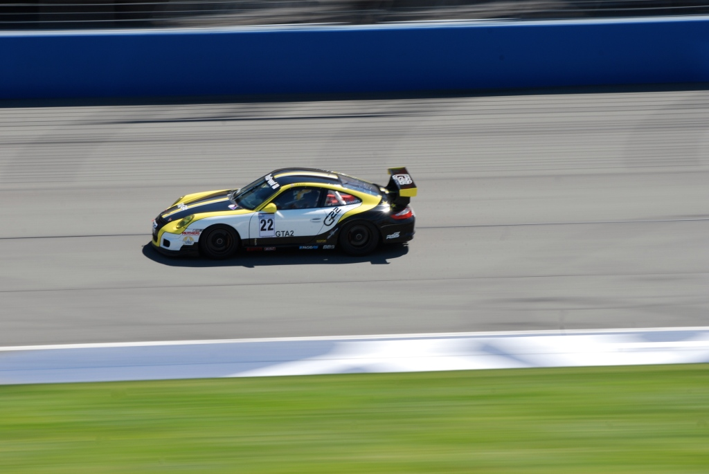 Black, yellow & white GT3 Cup car_#22_Festival of Speed_April 21, 2012