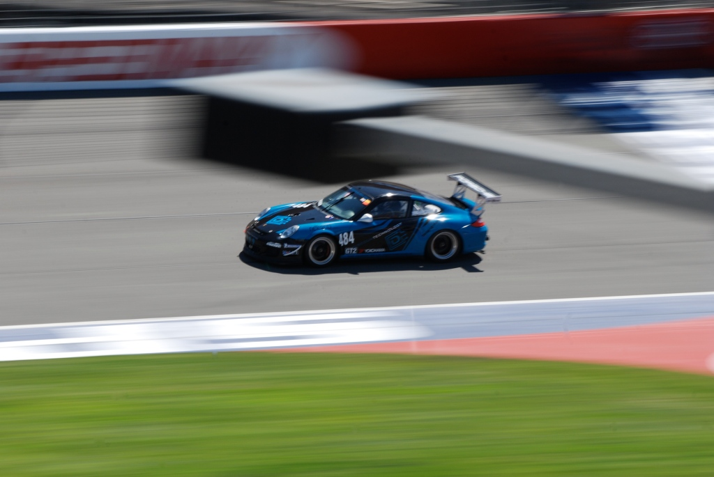 Discountechnology Porsche GT3_race winner_class GT2A, Saturday race_Festival of Speed_Auto Club Speedway_April 21, 2012