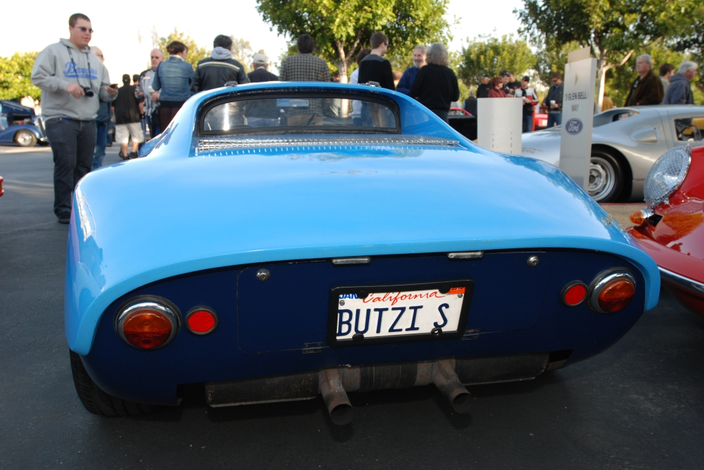 Blue 1964 Porsche 904-002 _Carrera GTS_Rear view_F.A. Porsche Tribute_Cars&Coffee/Irvine_4/7/12