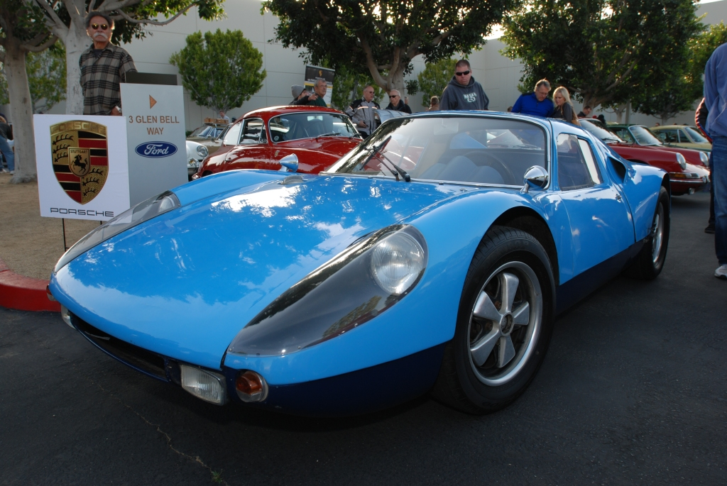 Blue 1964 Porsche 904-002_Butzi's car_3/4 front view_F.A. Porsche Tribute_Cars&Coffee/Irvine_4/7/12