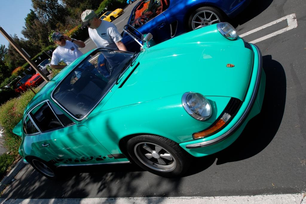 Jade Green 1973 Porsche 911 Carrera RS_RGruppe Solvang Treffen _May 5, 2012