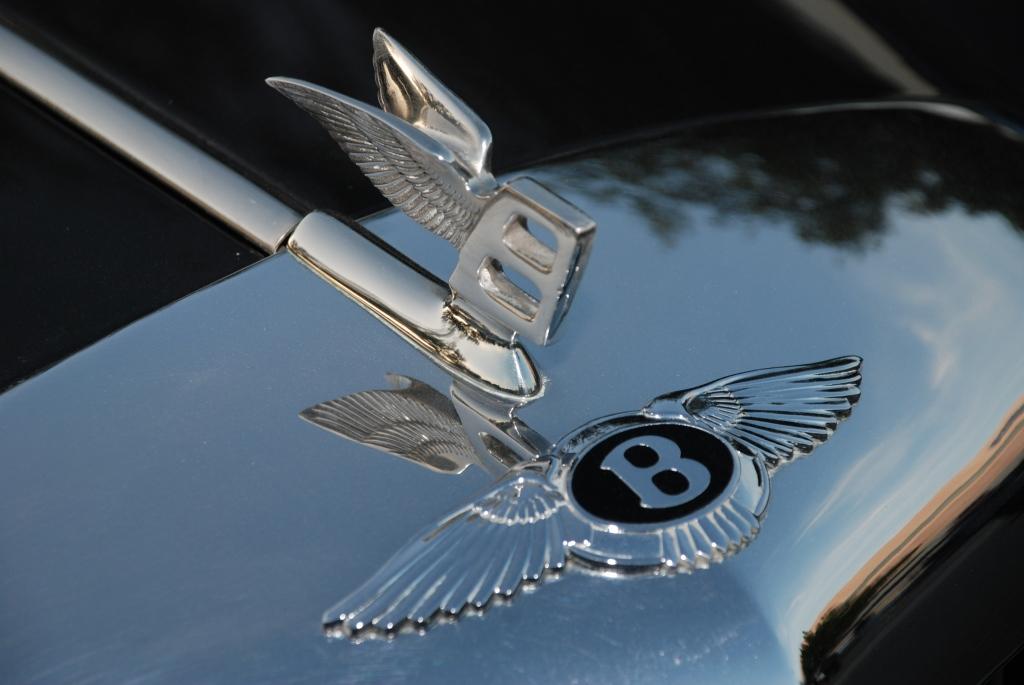 Contemporary Bentley hood emblem_Cars&Coffee_5/28/12