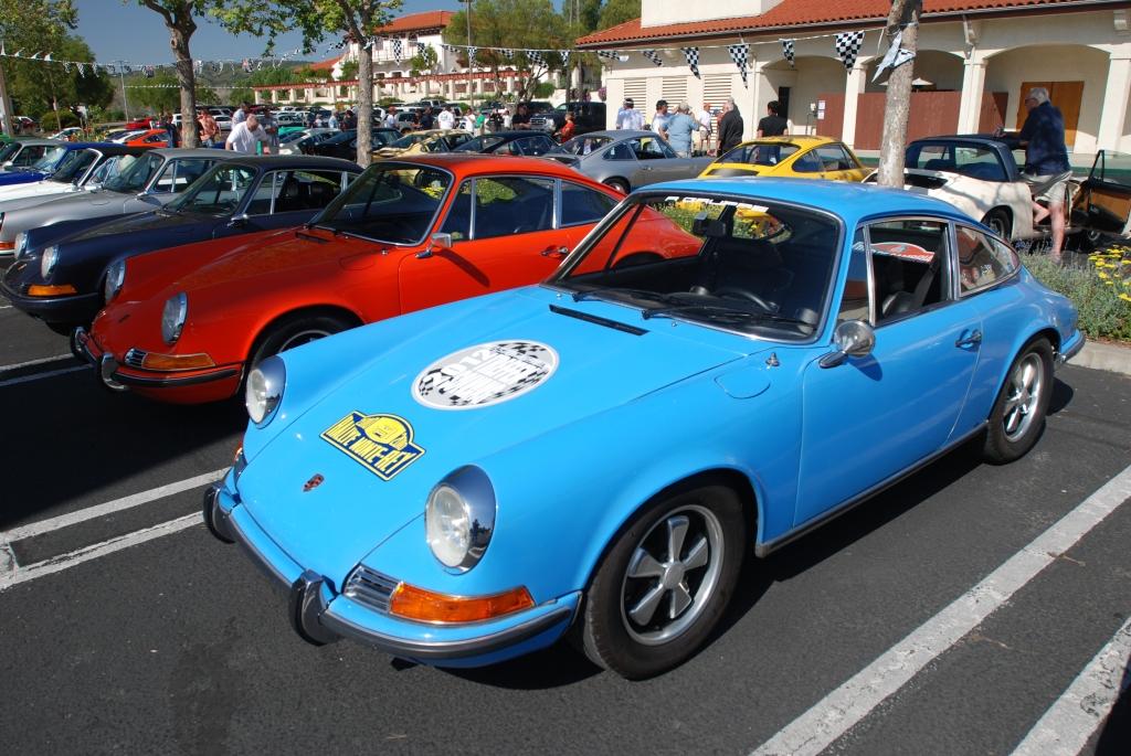 Porsche 911 rows_RGruppe Solvang Treffen _May 5, 2012