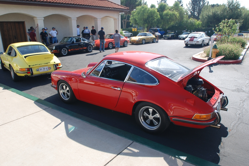 Four Porsche 911s from Mexico_RGruppe Solvang Treffen _May 5, 2012