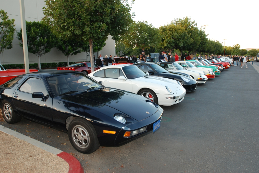 Porsche row_Cars&Coffee/Irvine_April 28,2012