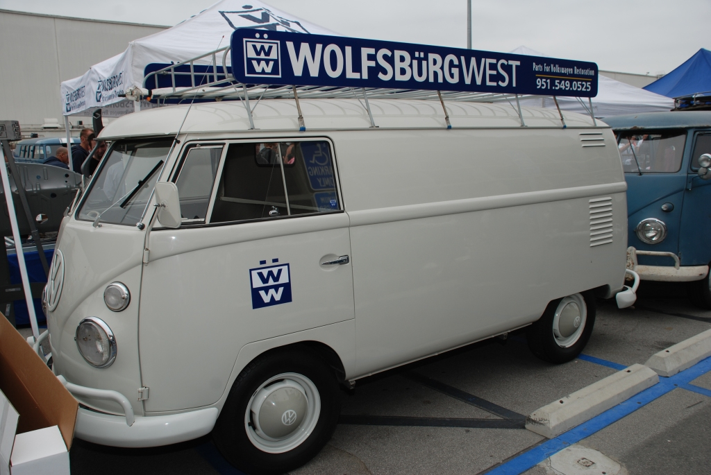 Type II transporter_Wolfsburg West,  Lite Gray Panelvan_The 2012 O.Ct.o Show_June 9, 2012