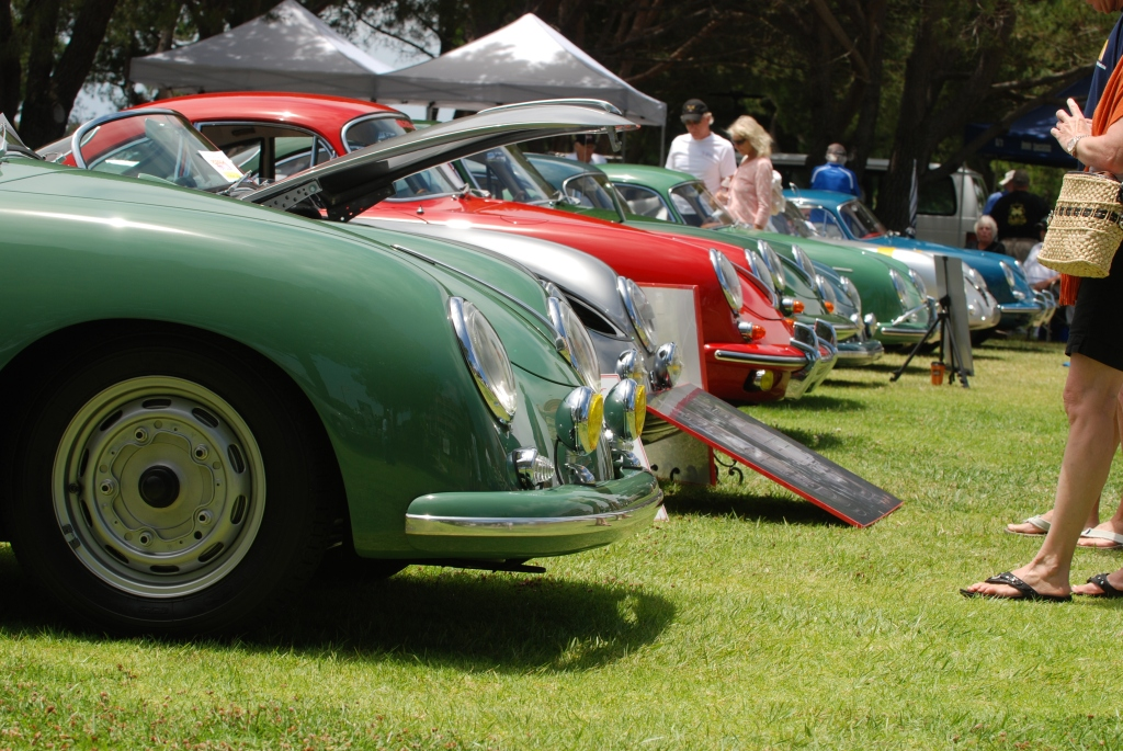 Porsche 356 Registry_ first row inhabitants_Dana Point concours _July 15, 2012