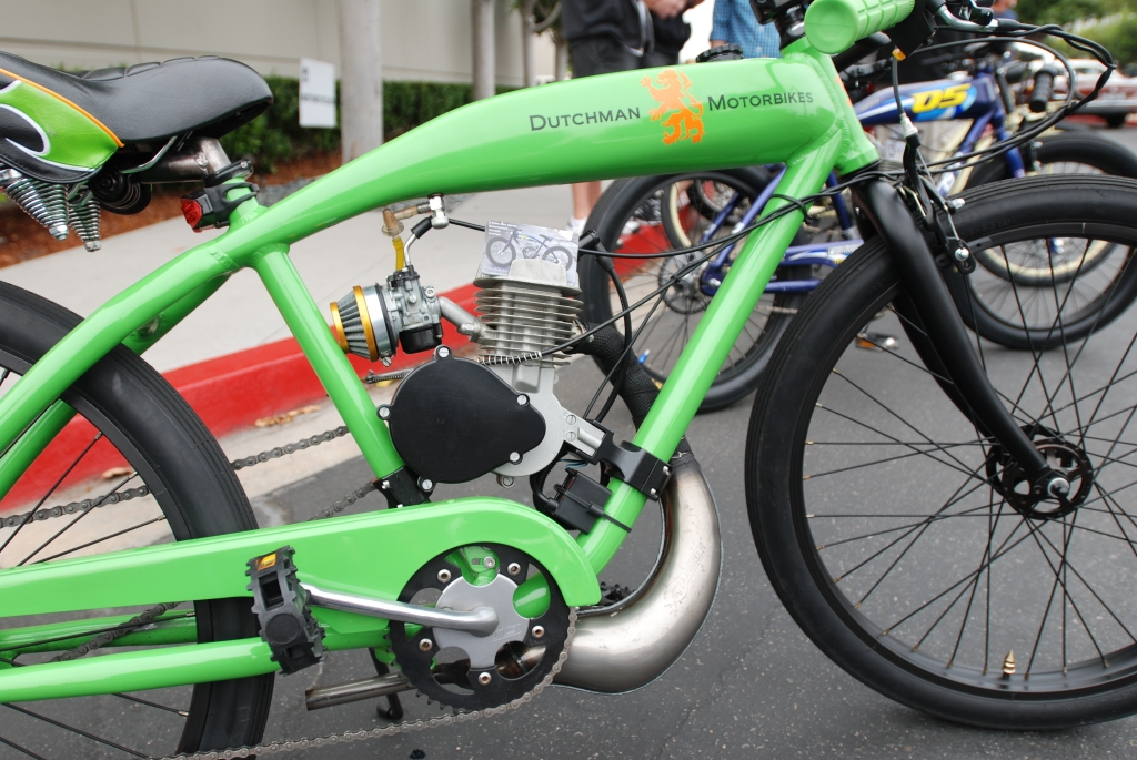 Lime Green Dutchman Motorbike_motorcycle row_Cars&Coffee/Irvine_June 23, 2012