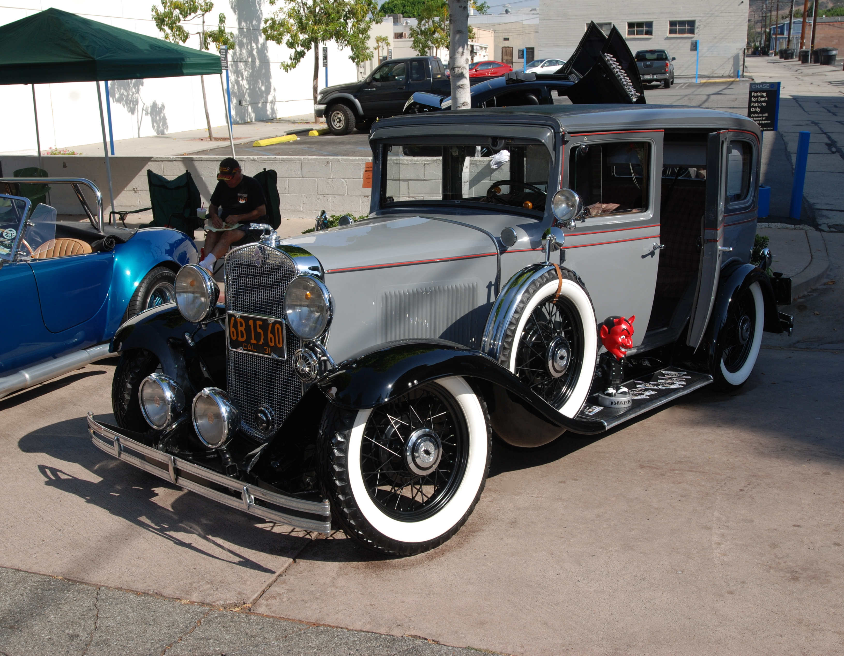 The Th Annual Uptown Whittier Car Show Cool Cars Displayed - Black cool cars