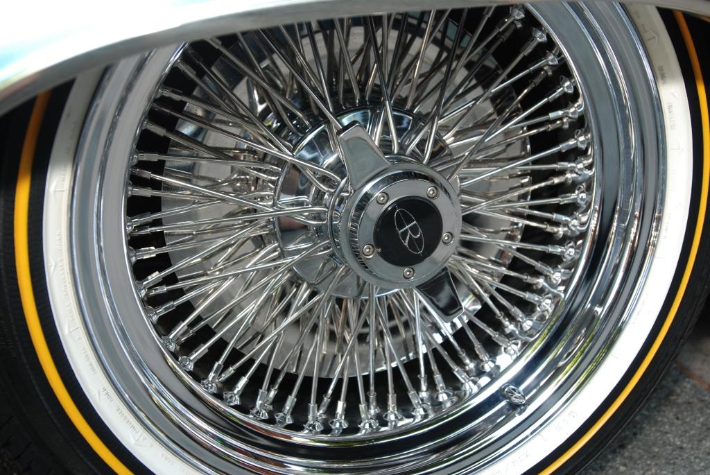 Lite blue metallic 1963 Buick Riviera_wheel detail_12th Annual Uptown Whittier Car Show_August 18, 2012
