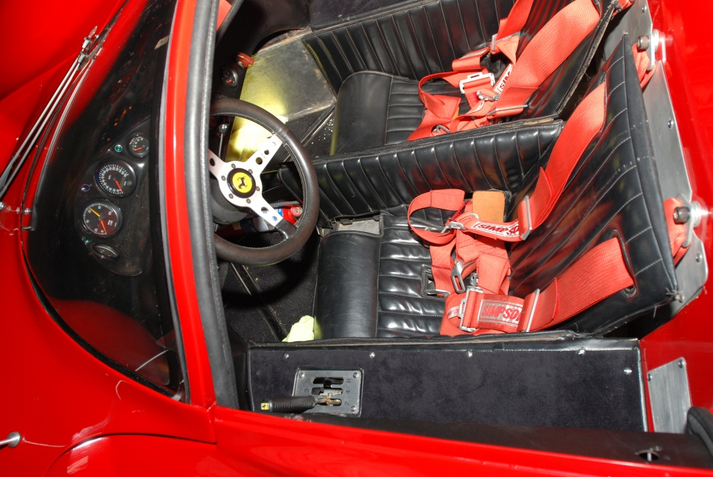 Ferrari 330 P4 recreation_interior /drivers side_Cars&Coffee_September 29, 2012
