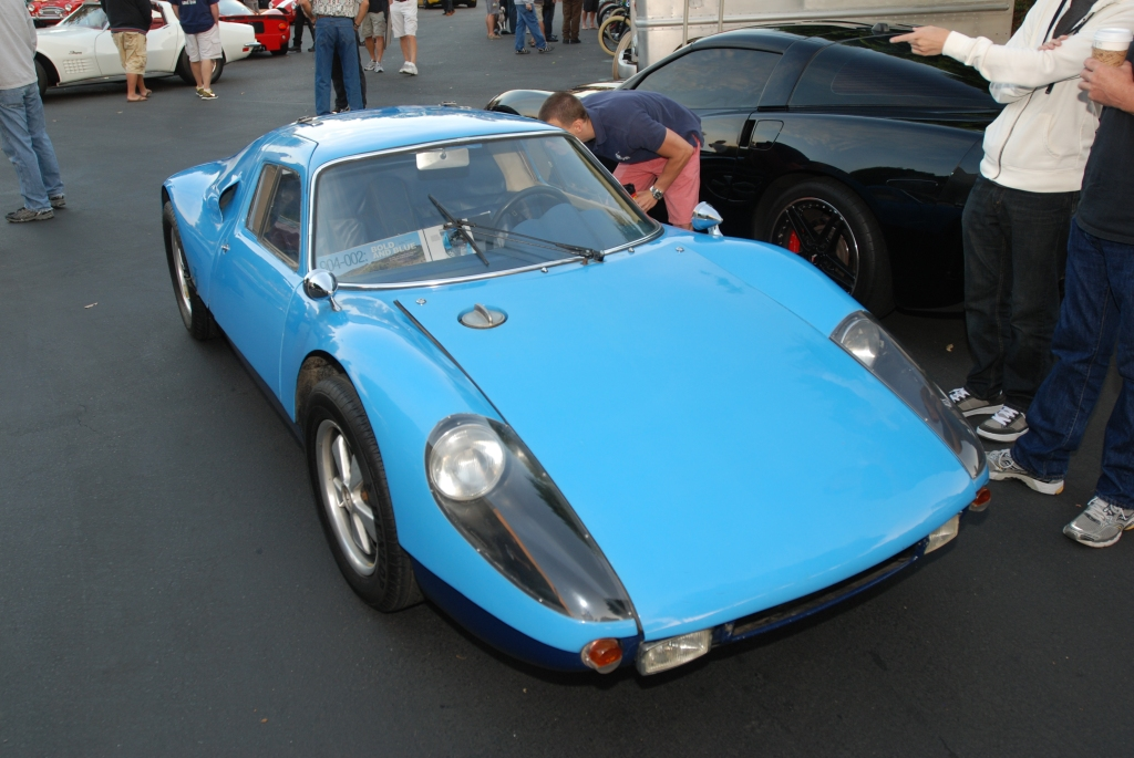 Blue 1964 Porsche 904 Carrera GTS_3/4 front view_Cars&Coffee_September 29, 2012