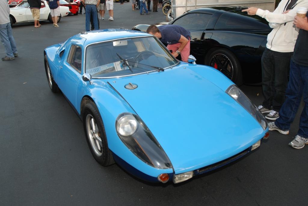 Blue 1964 Porsche 904 Carrera GTS_3/4 front view_Cars&Coffee_September 29, 2012