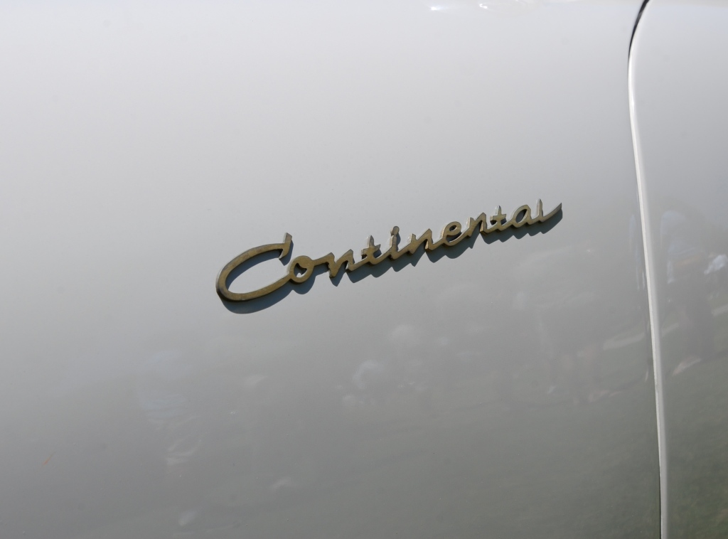 1955 Porsche Continental coupe_front fender badging detail_Cars&Coffee_October 6. 2012