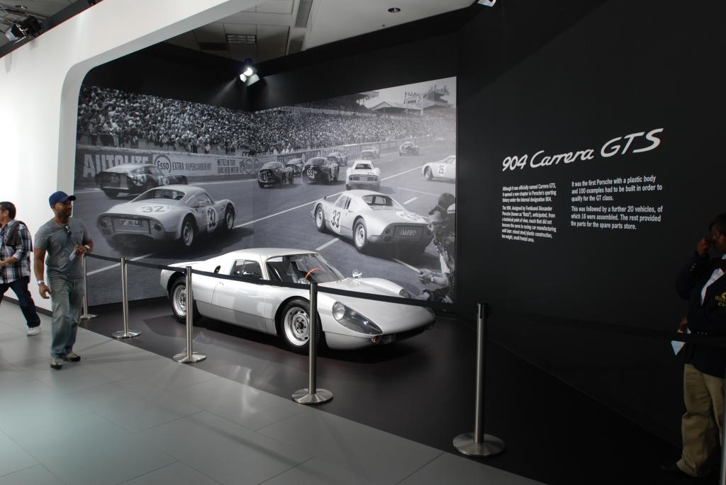 Silver Porsche 904 Carrera GTS_2012 LA Auto Show_ December 1, 2012
