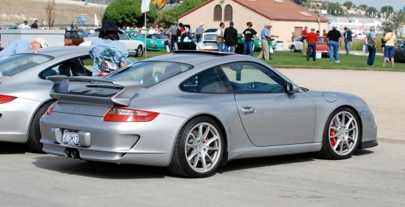 Silver Porsche GT3_Rennsport Reunion IV_Infield at Laguna Seca_2011_DSC_0102_2