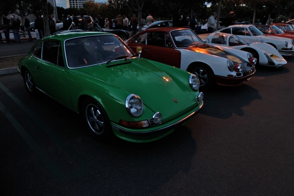 Porsche Row_Early 911s and a 1966  906 Carrera_Cars&Coffee/Irvine_December 29, 2012_DSC_0518