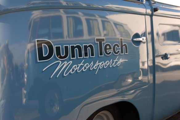 DunnTech Motorsports single cab _Door graphic & reflections _OCTO 2013 Winter show_February 23, 2013