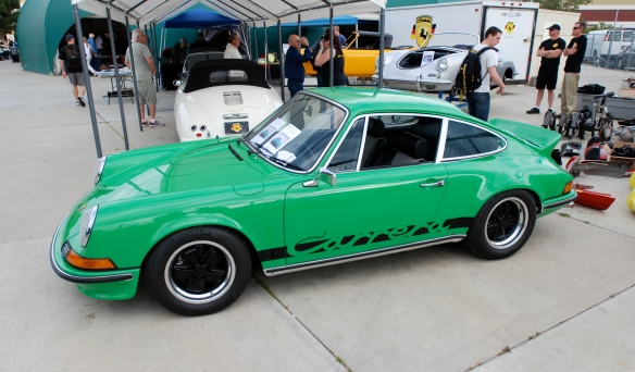 Viper Green 1973 Porsche 911 RS tribute_ CPR Classics_side view  _Phoenix club all Porsche Swap & Display_3/03/13