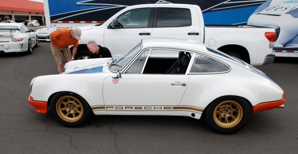 Magnus Walker 1972 Porsche 911STR 002 _Side view_California Festival of Speed_April 6, 2013