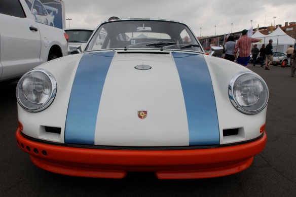 Magnus Walker 1972 Porsche 911STR 002 _Front view_California Festival of Speed_April 6, 2013