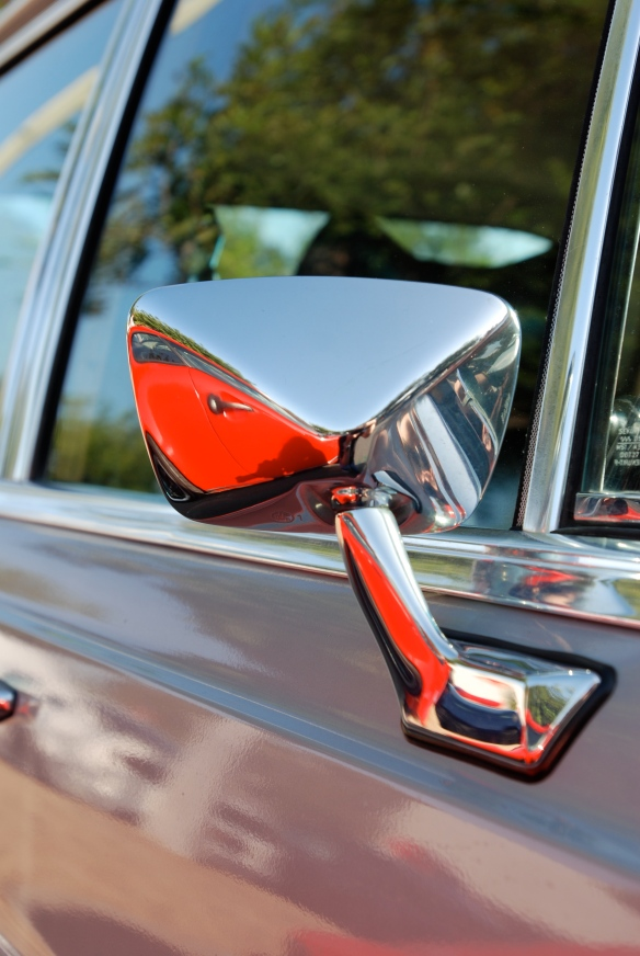 Mercedes -Benz  sedan_side  mirror reflection_Cars&Coffee/Irvine_April 27, 2013
