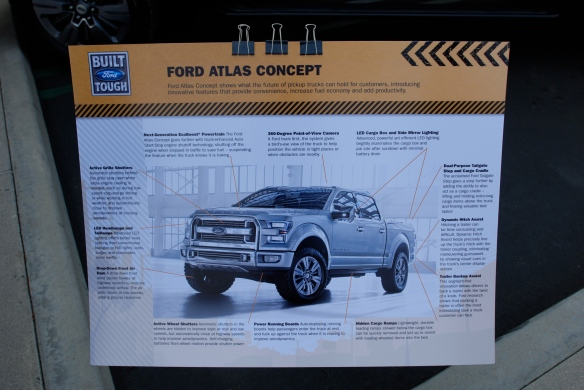 Silver Ford Atlas Concept_presentation board_Cars&Coffee/Irvine_April 27, 2013