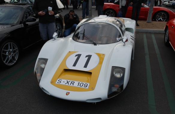 1966 Porsche 906 Carrera_ front view_cars&coffee_December 28, 2013