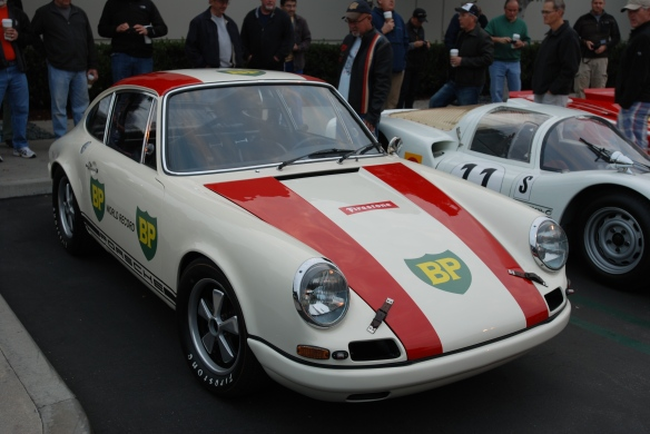 1967 Porsche 911R #001_3/4 front view_cars&coffee/irvine_january 25, 2014