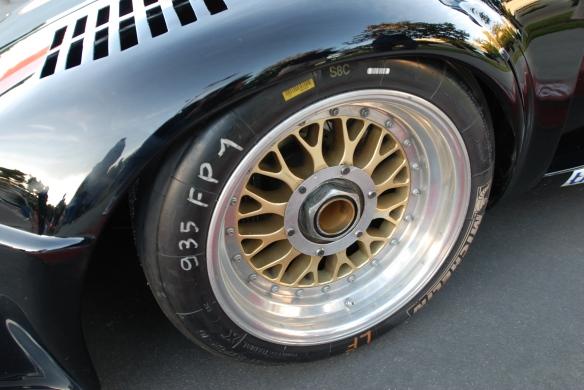 Interscope Racing 1978 Porsche 935_Gold BBS racing wheel & reflections_cars&coffee/irvine_February 15, 2014
